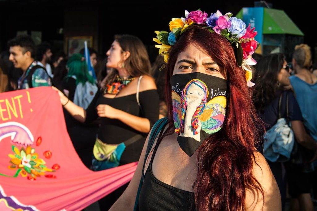 #8M Santiago de Chile, Conmemoración del día internacional de la mujer.