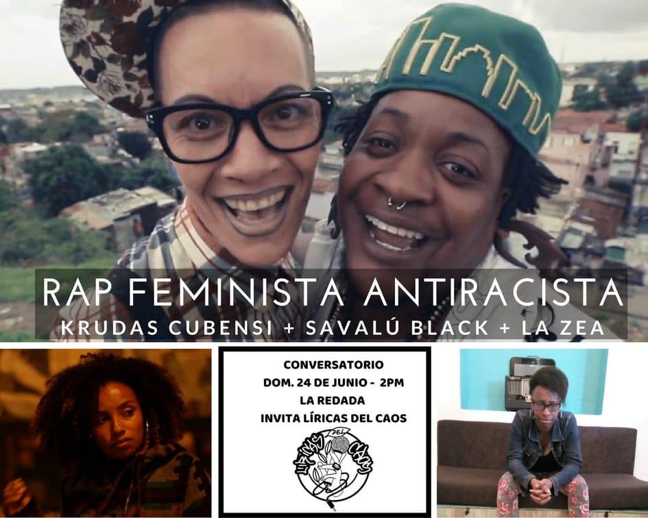 Conversatorio Rap Feminista Antiracista