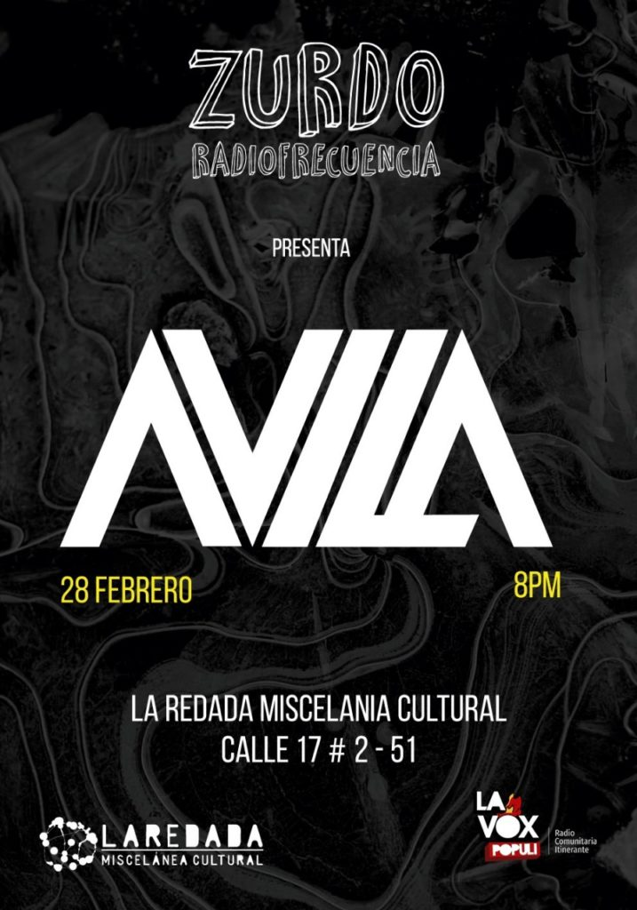 "Zurdo Radiofracuencia Track # 1 AVILA – ""Él"""
