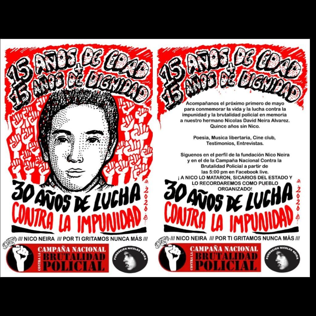 30 AÑOS DE LUCHA CONTRA LA IMPUNIDAD