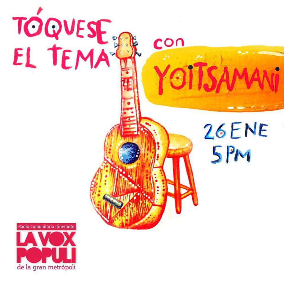 Música desde El Carmen de Bolívar: Tóquese el tema # 4 (26 de enero de 2019)
