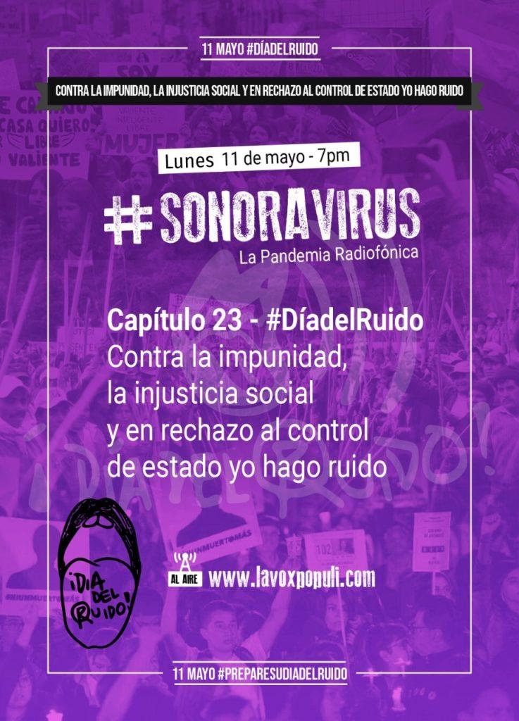 😷🥁 #SONORAVIRUS – La Pandemia Radiofónica. Capítulo 23: #DíaDelRuido 😷