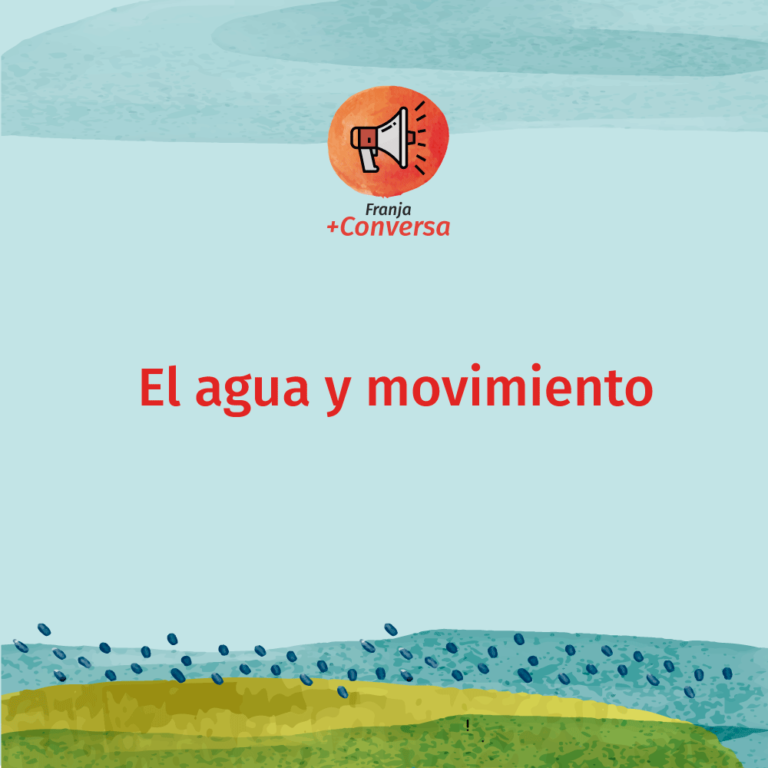 El agua y movimiento